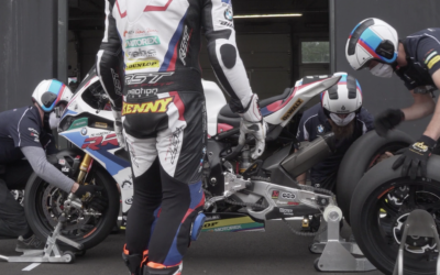 First roll out for the BMW Motorrad World Endurance Team in a private test on the Circuit Zolder
