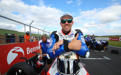 "Peter Hickman is fourth rider for the BMW Motorrad World Endurance Team at the ""24 Heures Motos"" in Le Mans."