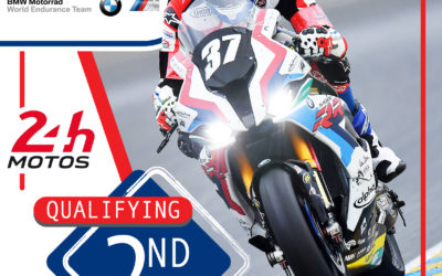 "BMW Motorrad World Endurance Team starts the ""24 Heures Motos"" in Le Mans from second place on the grid"