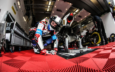 Third on the grid for the BMW Motorrad World Endurance Team at the FIM EWC season finale at Estoril.