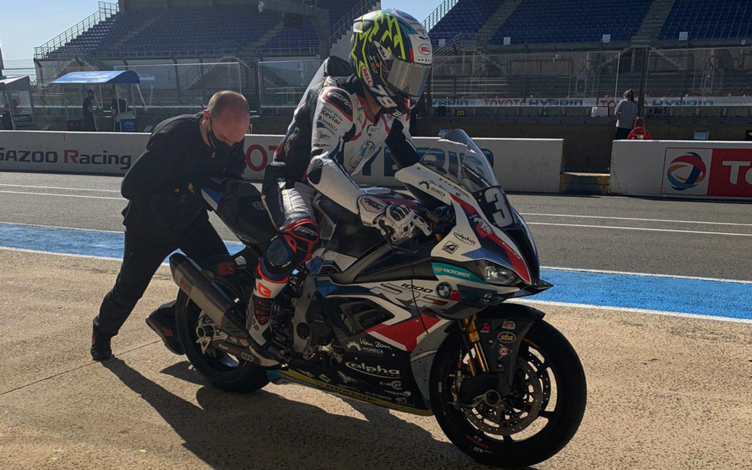 Pré-Mans Test: BMW Motorrad World Endurance Team in the final phase of preparations for the FIM EWC season-opener.